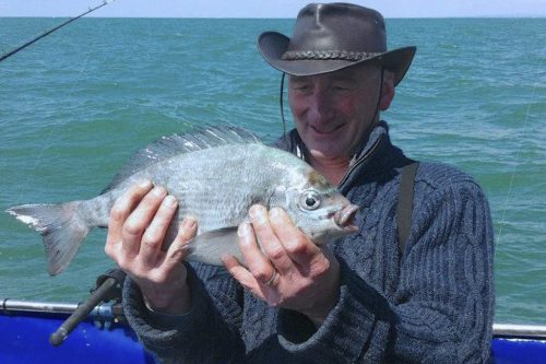 Tim with a Kingmere Bream